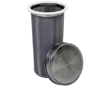 Cold Brew Coffee and Tea Maker Stainless Steel Filter With Lid for Wide Mouth Mason Jars