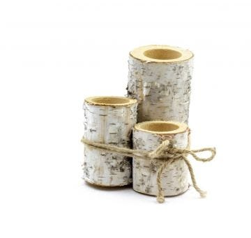 The unmistakable beauty of birch provides an elegant yet rustic aesthetic to any space.
