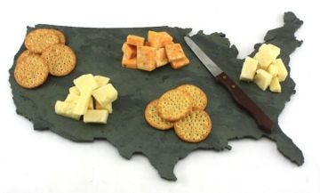 United States of America Cheese Board