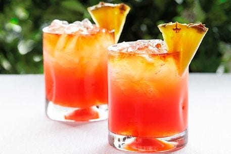 Ginger Rum Punch recipe.