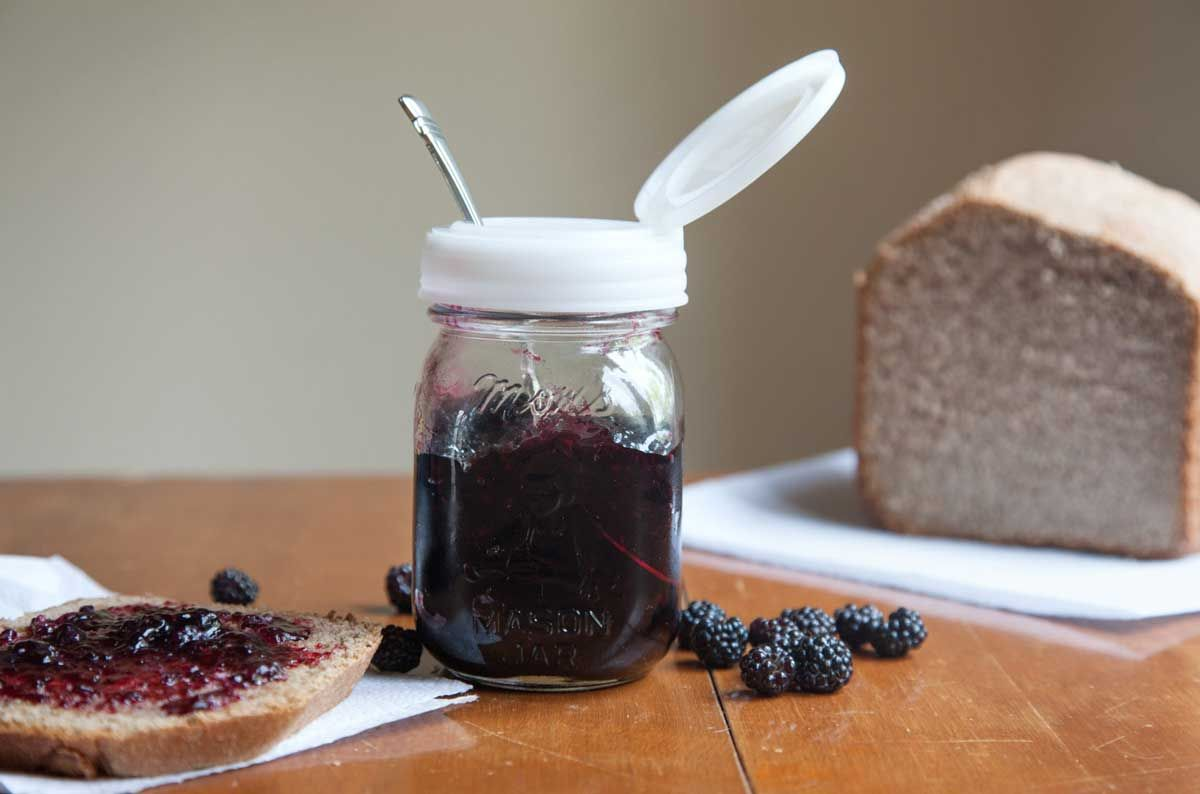 How to make Blackberry Freezer Jam recipe.