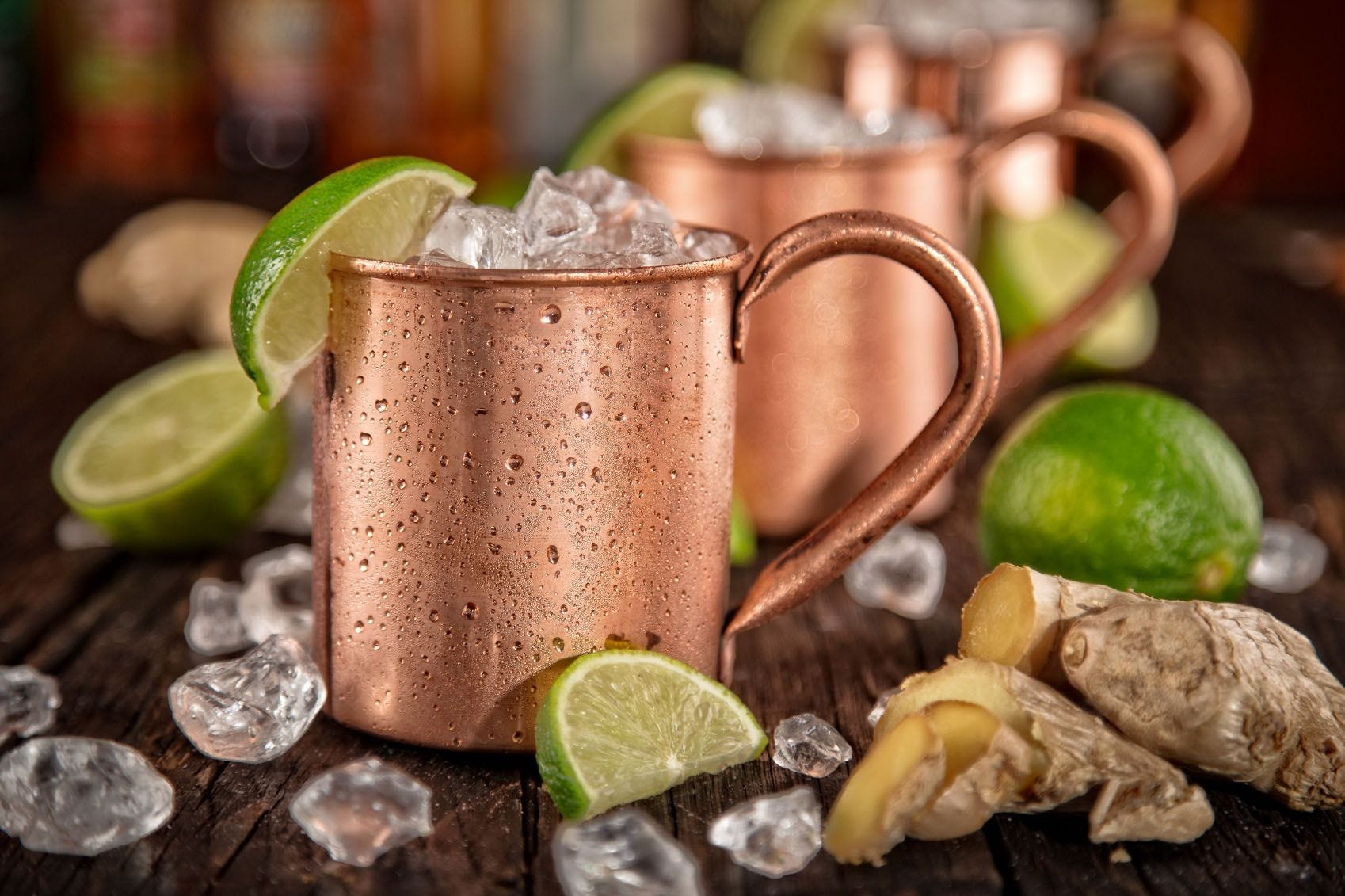 Moscow Mule with Rosemary Sea Salt Recipe recipe.