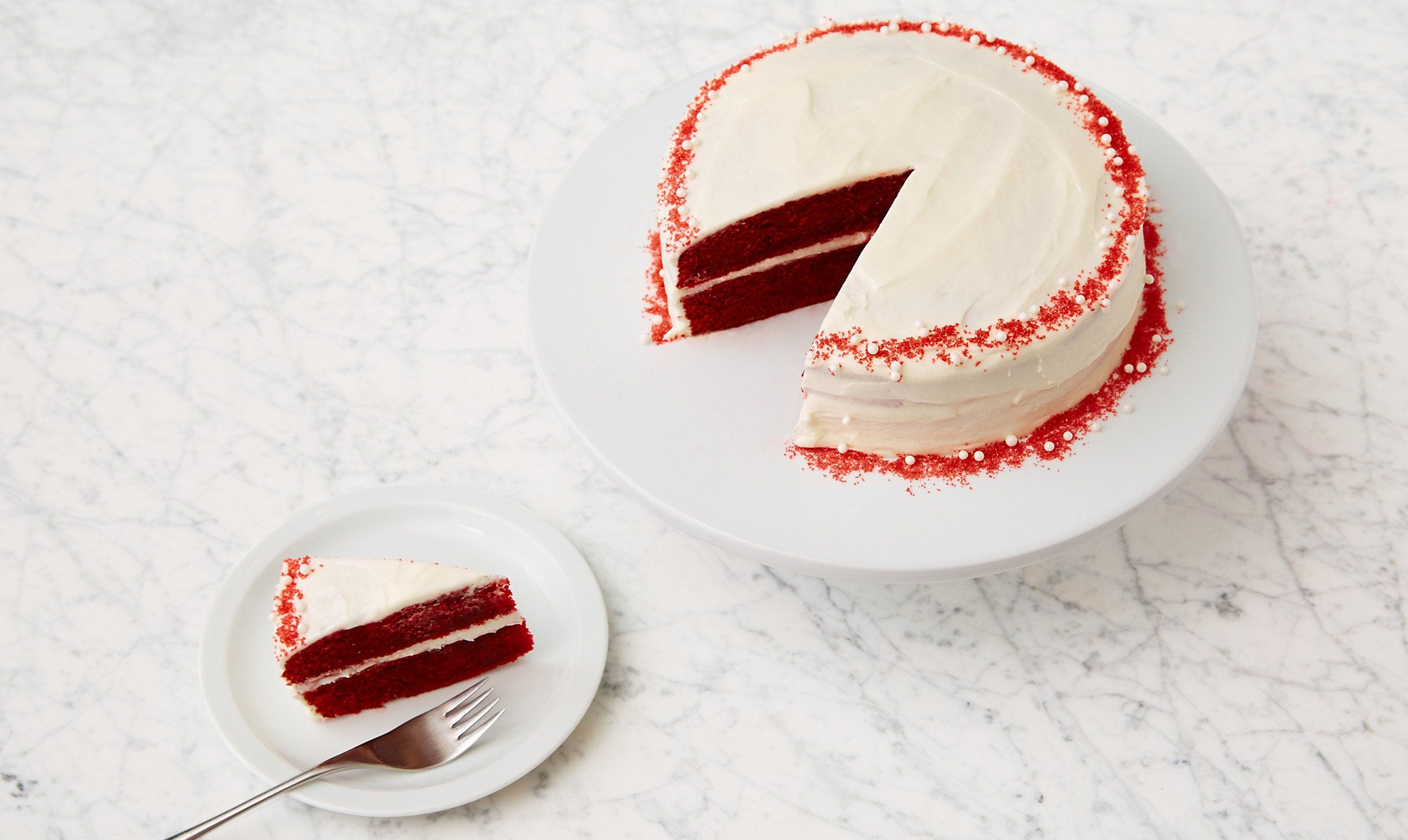 Red Velvet Cake with Cream Cheese Frosting recipe.