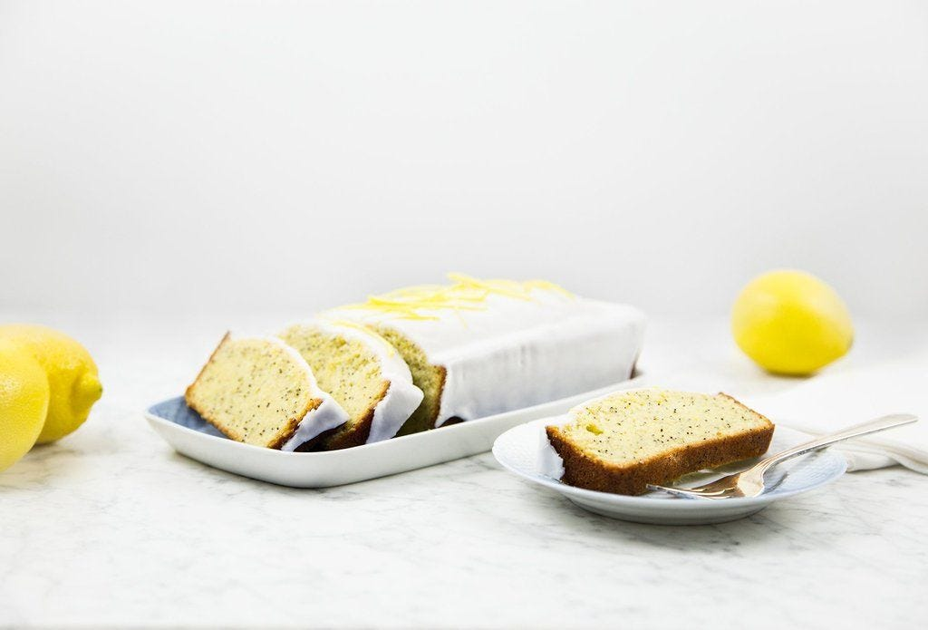Lemon Poppy Seed Loaf with Lemon Glaze recipe.