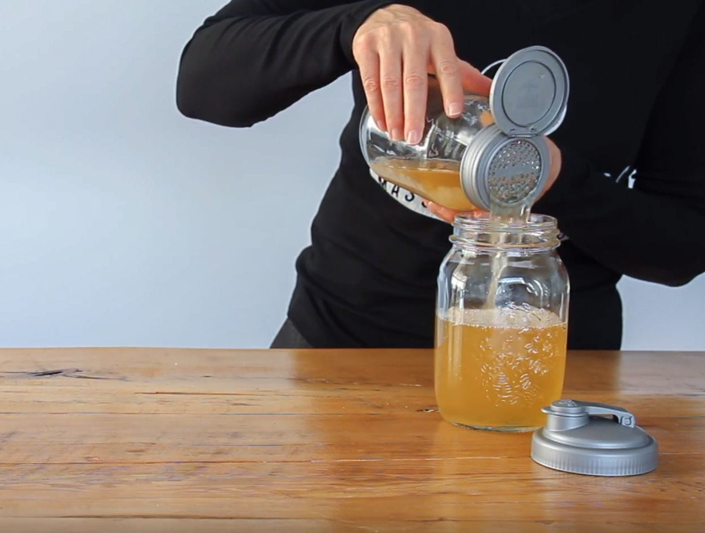 Make Your Own Water Kefir  recipe.