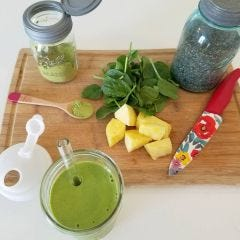 Ultimate Matcha Smoothie by The Mermaid Yogi