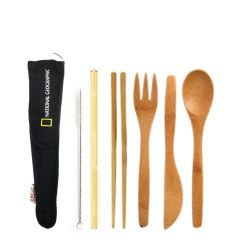 National Geographic Reusable Utensil Kit