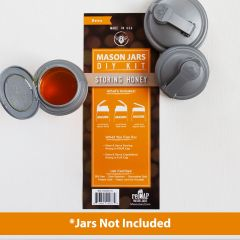 reCAP® Mason Jars DIY Kit: Storing Honey