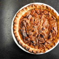 Black Pepper Pecan Pie Dessert Recipe
