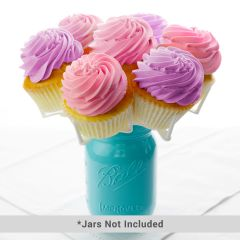 Bloom Display Mason Jar Cupcake Holder