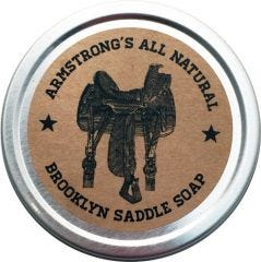 Armstrong's Brooklyn Saddle Soap