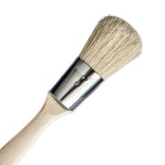Oval Natural Bristle Paint Brush