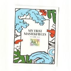 My First Masterpieces Coloring Book