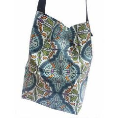 Laminated Cotton Denny Tote