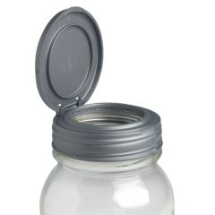 reCAP® Mason Jars FLIP, Regular Mouth Lid