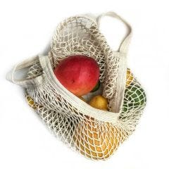French Market Produce Tote, Cotton String Bag
