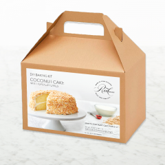 DIY Baking Kit: Coconut Cake with Coconut Flakes