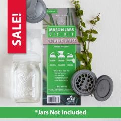 reCAP® Mason Jars DIY Kit: Growing Herbs