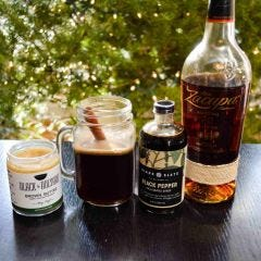 Hot Black Pepper and Brown Buttered Rum Cocktail Recipe