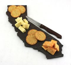 State Slate Cheese Boards/Cutting Board