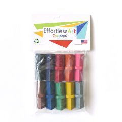 Effortless Art Crayons Level 1 10 Pack