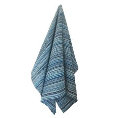 Modern Stripe Tea Towel - Blues