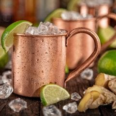 Moscow Mule with Rosemary Sea Salt Recipe