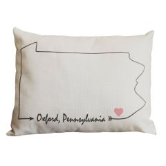 Customizable State Pillow