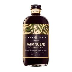 Palm Sugar Rich Simple Syrup