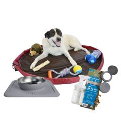 Pets Travel Care Kit - Toys Not Included