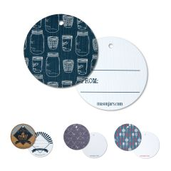 reCAP® Mason Jars Tags - Circles, 100 count