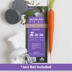 reCAP® Mason Jars DIY Kit: Rabbit Care