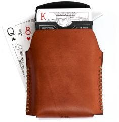 Misc. Goods Co. Leather Single Playing Cards Case