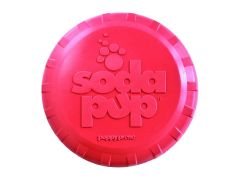 SP Puppy Bottle Top Flyer - Small, Pink Dog Toy