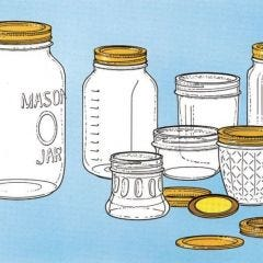 Can You Use Re-cycled Mason Jars For Canning?