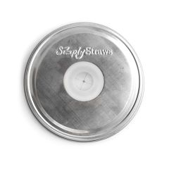3.0 Mason Straw Lid - Polished Stainless Steel