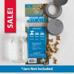 reCAP® Mason Jars DIY Kit: Dog Care