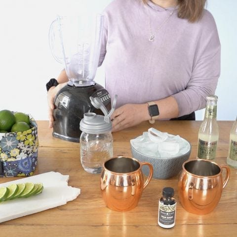 Frozen Moscow Mule Cocktail Recipe