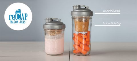 Best Mason Jar Hack for Lunches