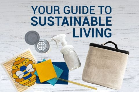"""""""Your Guide to Sustainable Living"""""""
