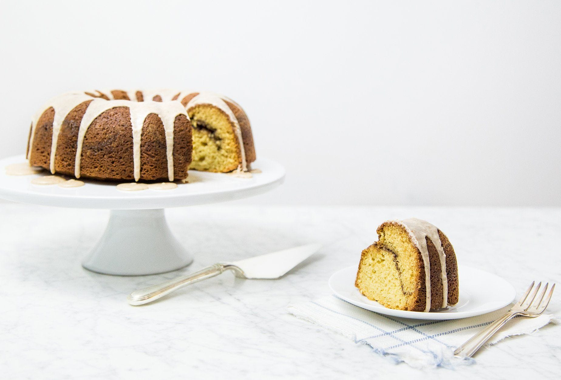 Chai Spice Bundt Cake with Cinnamon Streusel recipe.