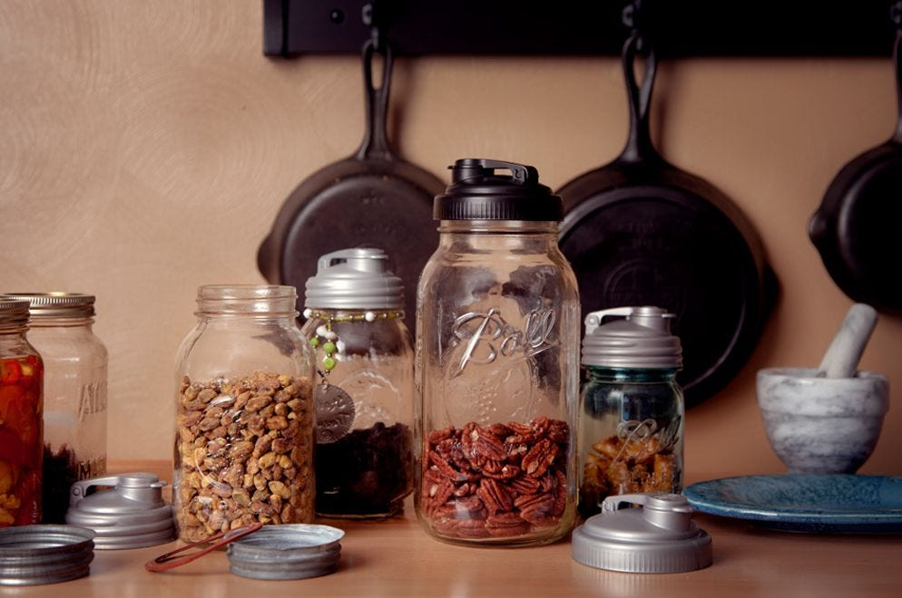 Find The Size of Your Mason Jar story.