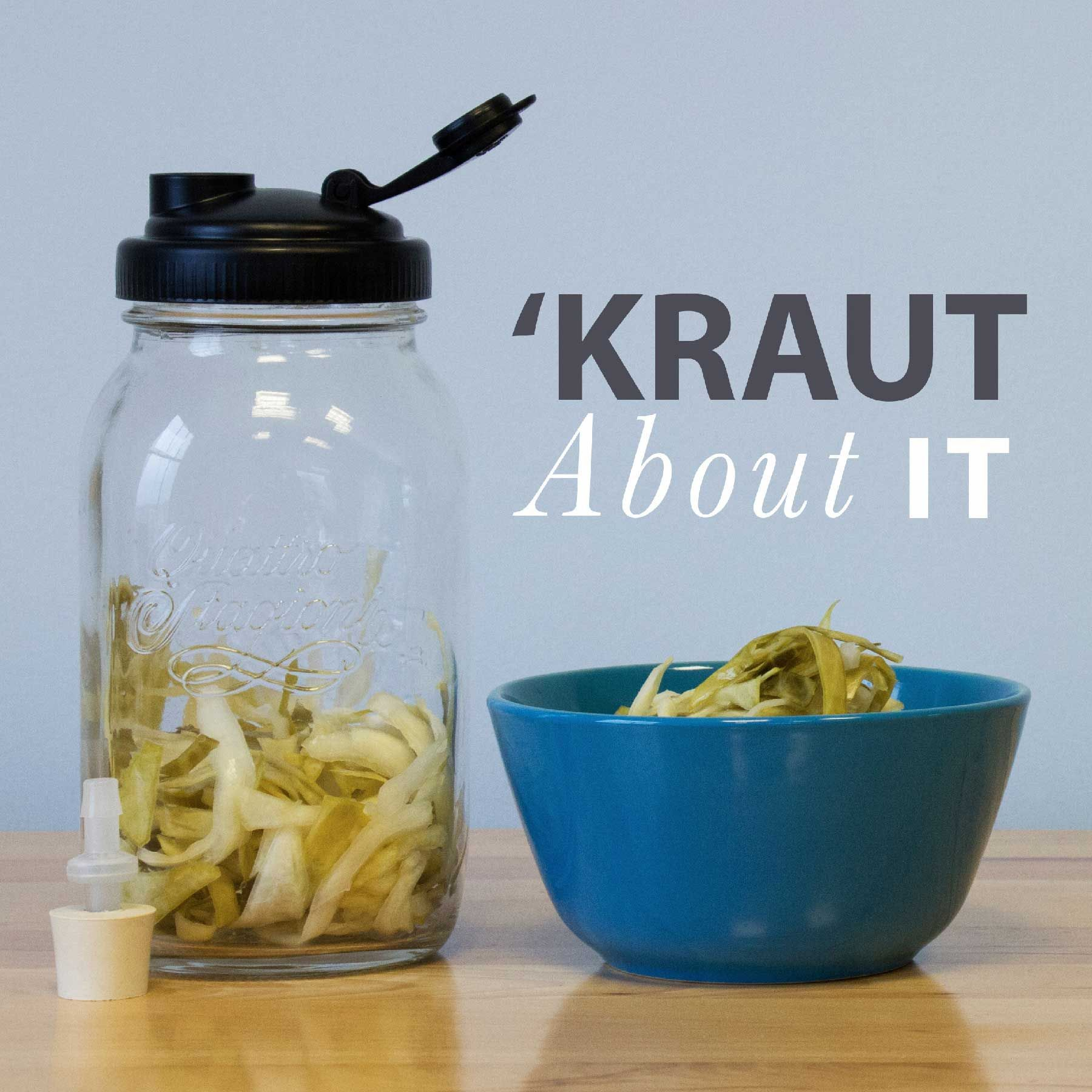 'Kraut About It: Sauerkraut Fermentation for Newbies recipe.