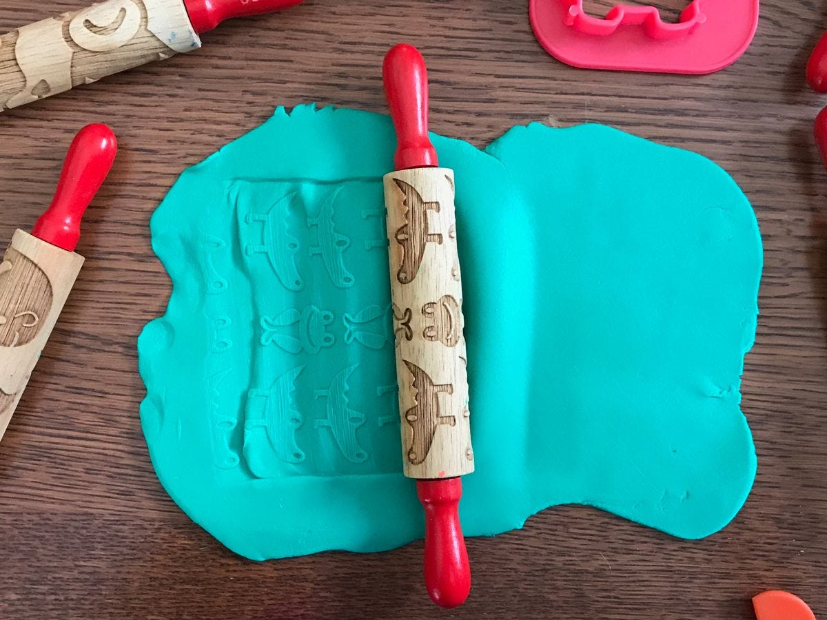 Make Your Own Play Dough how to.
