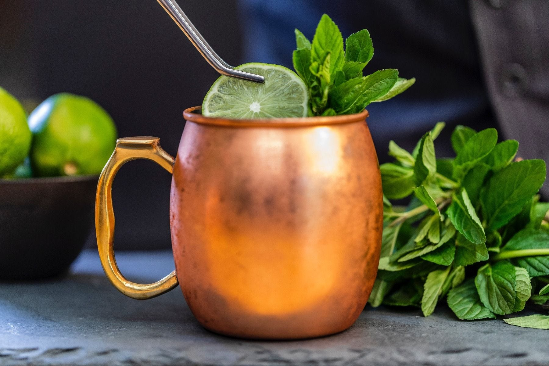 Frozen Moscow Mule Cocktail Recipe how to.
