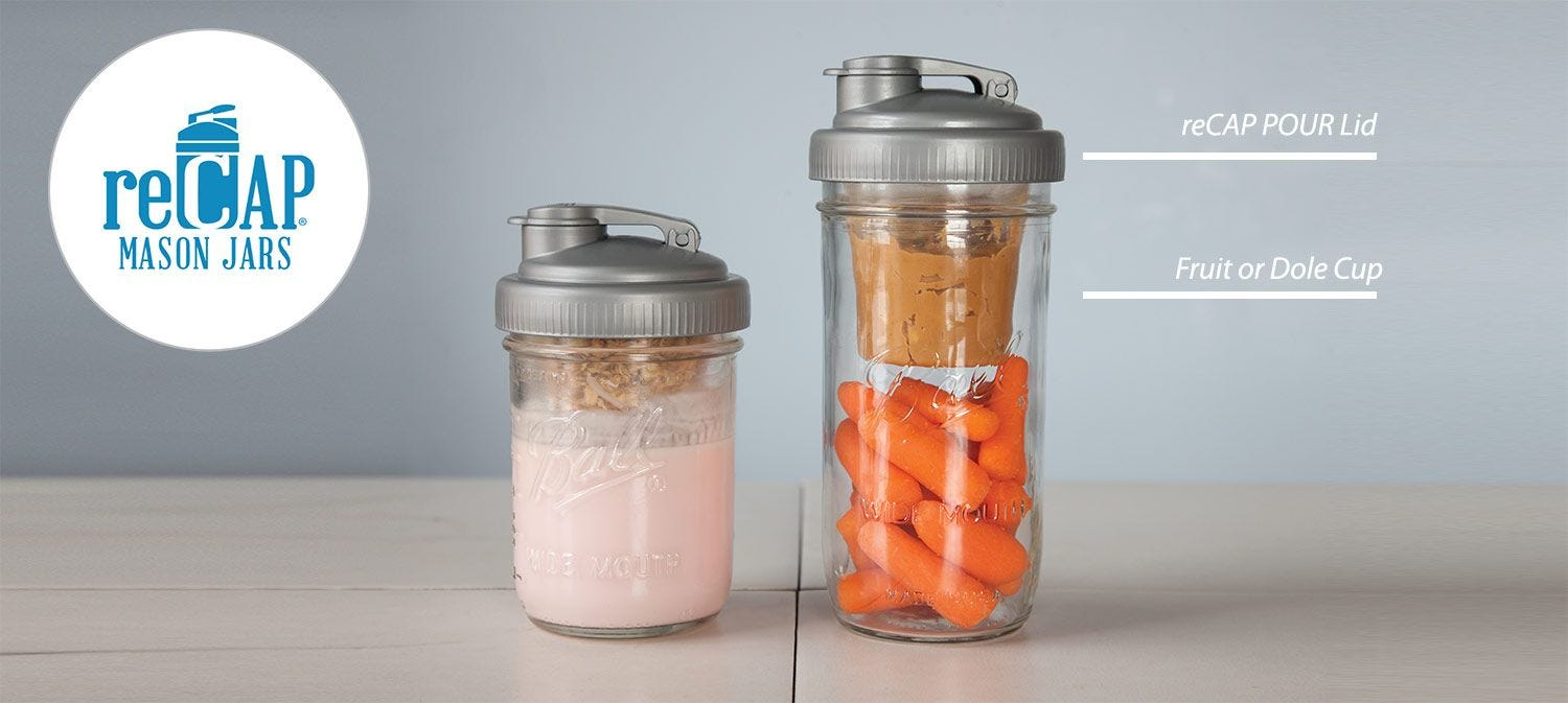 Best Mason Jar Hack for Lunches how to.