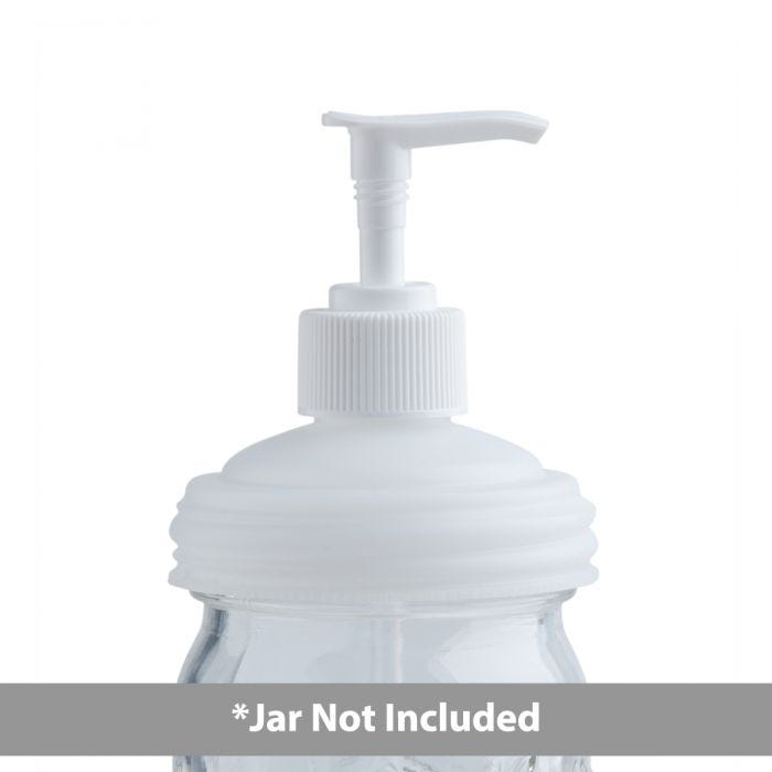reCAP® Mason Jars Lid ADAPTA Pump Cap, Regular Mouth, Natural