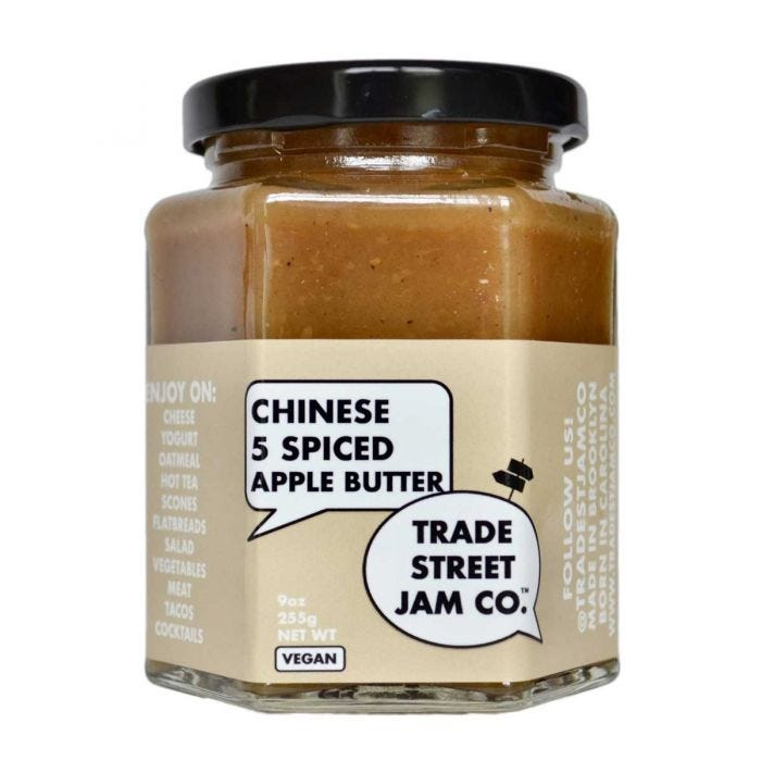 Chinese 5 Spiced Apple Butter