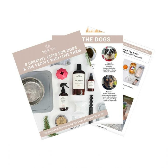 Dog Lovers Gift Guide Ebook