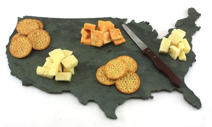 United States of America Cutting Board